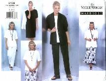 Vogue 2139 Jacket Dress Top Skirt Pants Size 8 - 12 - Bust 31 1/2 - 34