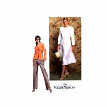 Misses Jacket Pants Skirt Vogue 7859 Sewing Pattern Size 6 - 8 - 10