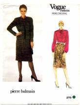 Vogue 2770 Pierre Balmain Jacket Skirt Blouse Suit Size 10 - Bust 32 1/2