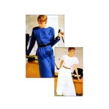 Misses Straight or Flared Skirt Dress Vogue 7144 Vintage Sewing Pattern Size 6 - 8 - 10