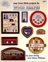 Easy Cross Stitch Projects for Wood Shapes